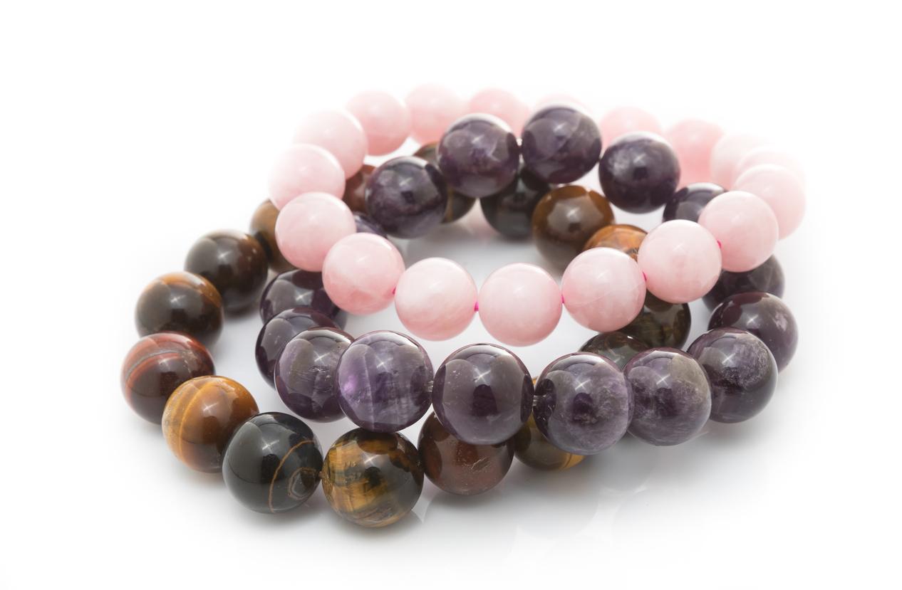 stone lucky bracelet